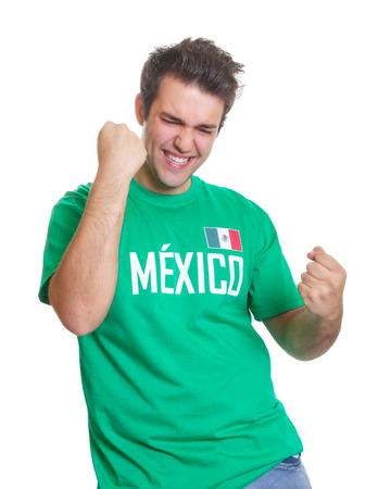 Mexicaanse sportfan freaks out