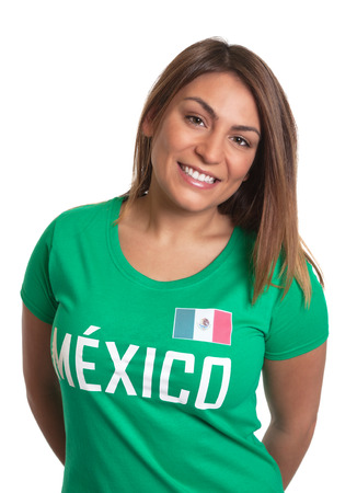 freak out: Laughing mexican girl  Stock Photo