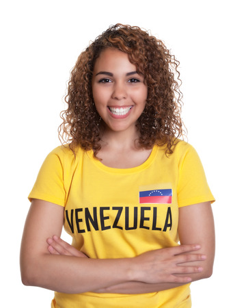 Young woman from Venezuela with crossed arms photo