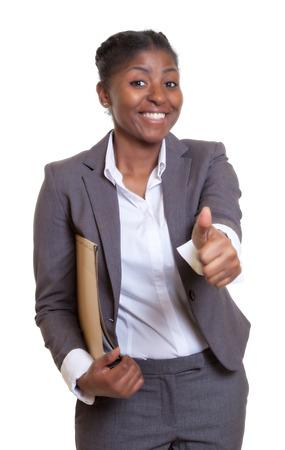 adult kenya: Powerful african businesswoman Stock Photo