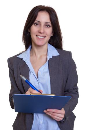 Russian business woman