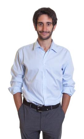 cool guy: Cool latin guy with beard