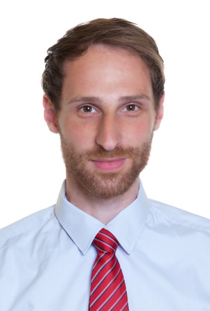 Portrait of a german businessman with beard