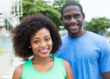 african american woman: African american woman with husband
