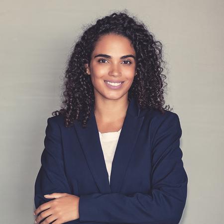 Portrait of a latin american businesswoman