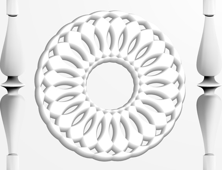 molding: elegant simplicity of form and line decoration