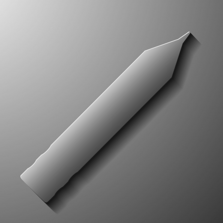ease: pencil , abstract icon, style