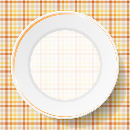 dishes: Image dishes on a napkin