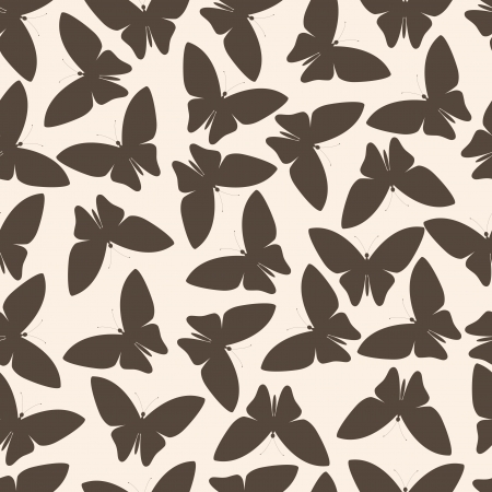 seamless pattern or abstract butterfly