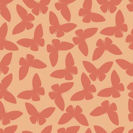 wingspan: seamless pattern o farfalla astratto Vettoriali