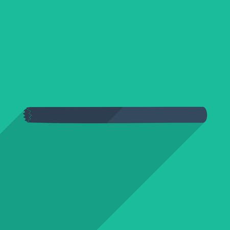 jumper: Flat icons modern design with shadow of jumper. Vector illustration Illustration