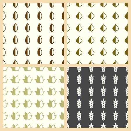 Deja la ilustración vectorial en un fondo sin patrón.