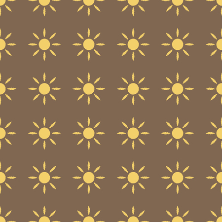 태양 패턴.