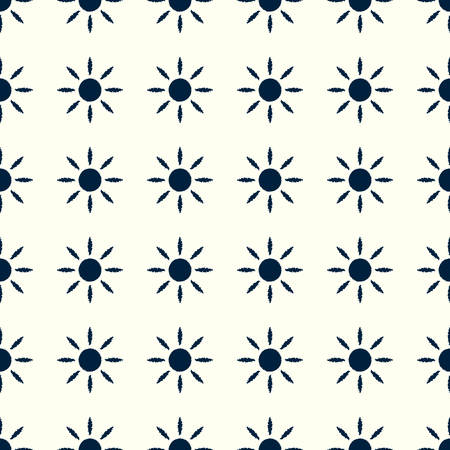 太陽のパターン。  イラスト・ベクター素材