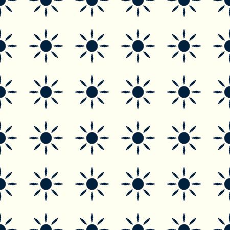 태양 패턴 그림입니다.