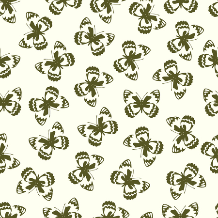 Beautiful Butterfly pattern Иллюстрация