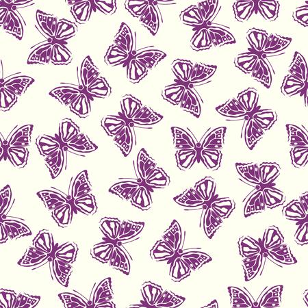 Beautiful Butterfly pattern Illustration
