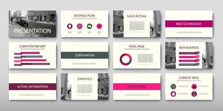 Affiche infographie information entreprise design moderne défini proposition annonce. Illustration vectorielle avec schéma graphique Vecteurs