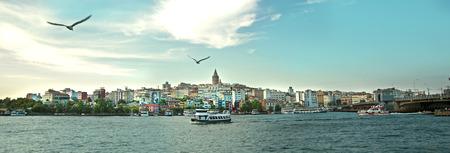 이스탄불 도시의 파노라마 스톡 콘텐츠