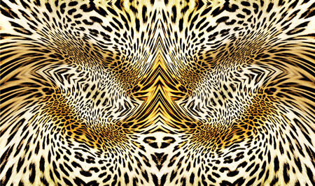 reptile skin: abstract leopard