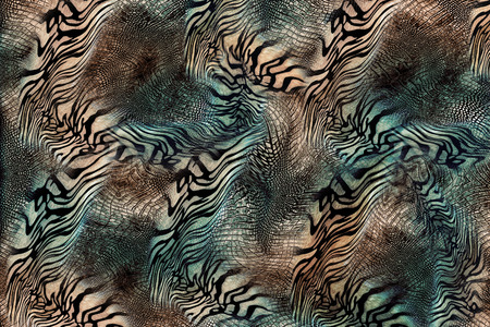 snake tiger skin