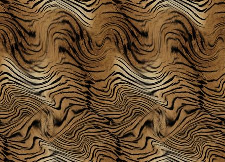 Fond transparent de peau de tigre Banque d'images - 94616983