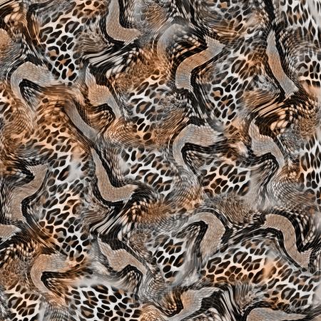 Léopard mix serpent de fond Banque d'images - 94777160