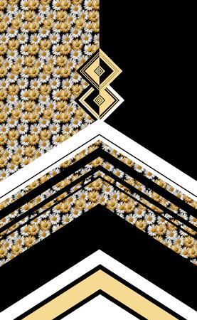 Paisley géométrique Banque d'images - 94830922