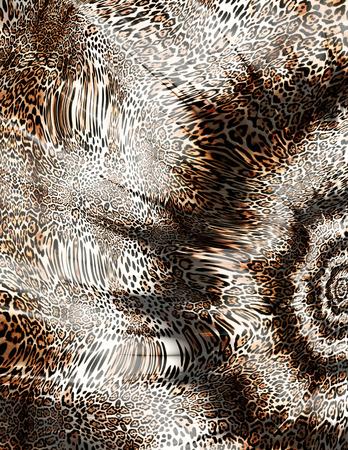 Fond de peau de léopard Banque d'images - 94652625