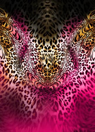 leopard background Banque d'images