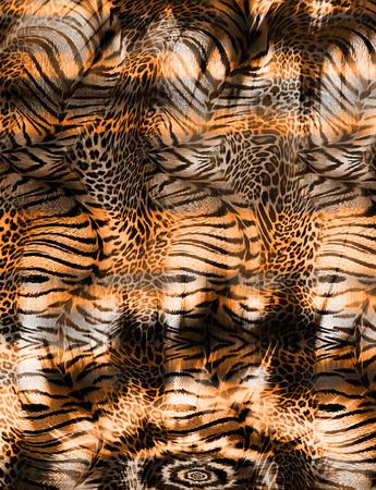 leopard skin background Banque d'images