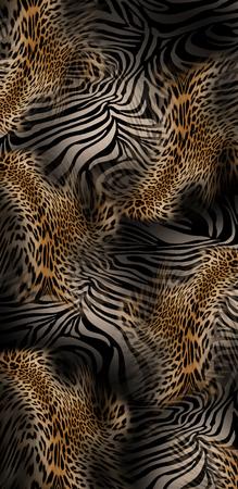 leopard zebra skin background