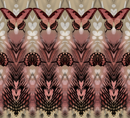 snake butterfly skin  background