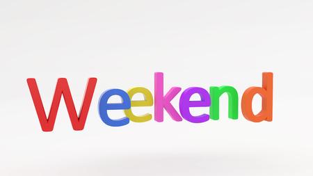 Weekend Banco de Imagens - 113702293