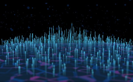 abstract background sound wave