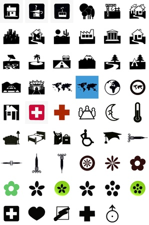 icons Stock Photo - 13383206