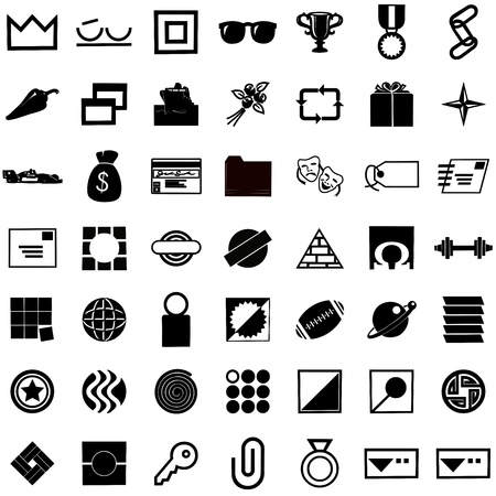 paperclips: icons