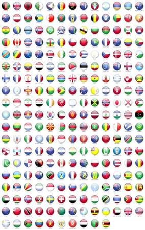 country flags: Round the flags