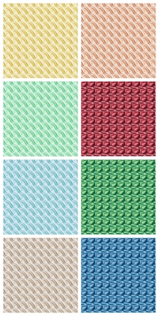 colored fabrics Stock Photo - 14540199