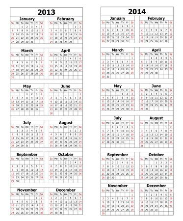 2013 2014 calendar photo