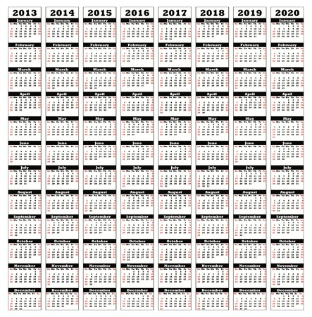 2013-2020 Stock Photo - 15399581