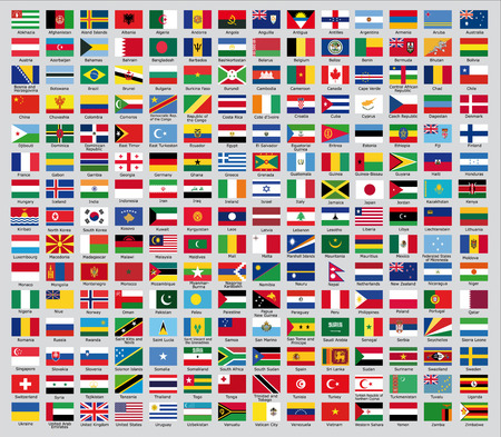 south africa flag: Official country flags