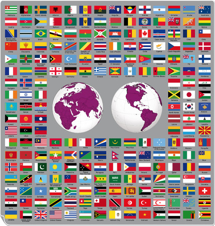 Flags of the world 2014
