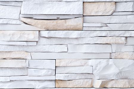 Light brick stone exterior and interior decoration building material for wall finishing Stock Photo - 6504342