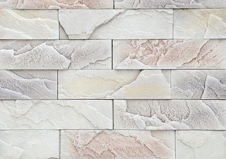 Light brick stone exterior and interior decoration building material for wall finishing Stock Photo - 6504339