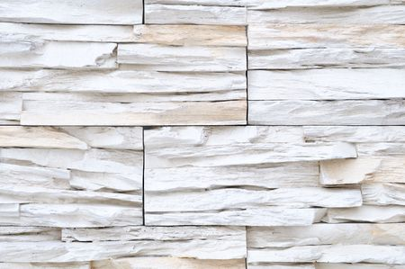 white brick stone exterior and interior decoration building material for wall finishing Stock Photo - 6504332