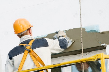 pore: facade thermal insulation works with stopping and surfacer