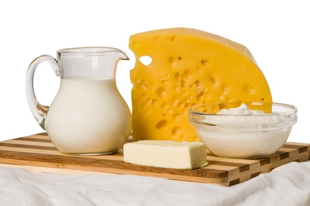 porous: milk dairy product composition