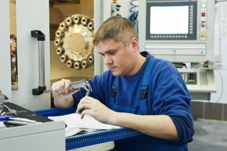 milling center: lavoratore misura dettaglio