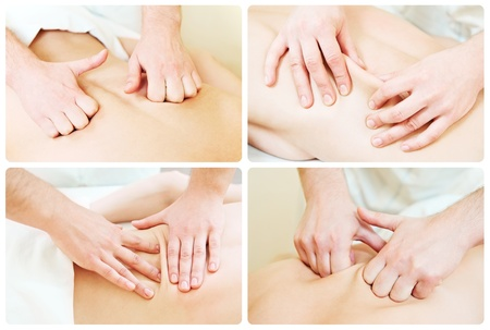 massage technique composition Stock Photo - 9920585